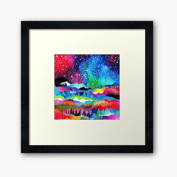 Winter Constellations Framed Art Print