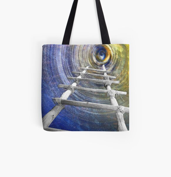 Follow in the Footsteps All Over Print Tote Bag