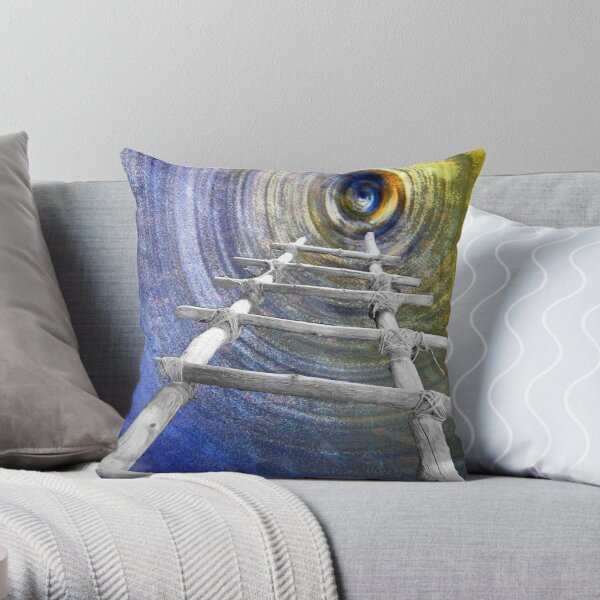 Follow in the Footsteps Throw Pillow