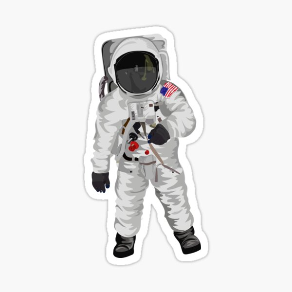 buzz aldrin astronaut, Sticker
