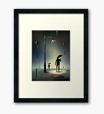 Tesouras. Framed Print
