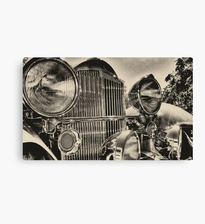 old packard chrome Canvas Print