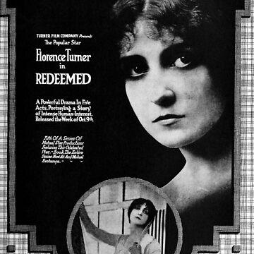 Vintage Hollywood Nostalgia Redeemed Film Movie Advertisement Poster by jnniepce