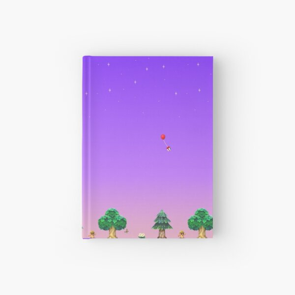 Sunrise over Animal Village Hardcover Journal