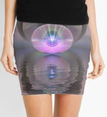 Triple Refraction Mini Skirt