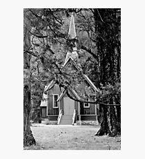 Yosemite House of God Photographic Print