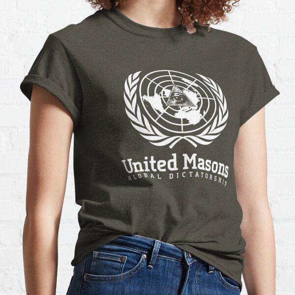 United Masons - Global Dictatorship Classic T-Shirt