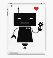 Robot With Flower iPad Case/Skin