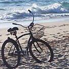 Bicycle On The Beach by DianaTaylor/ JacksonDunes