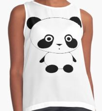 Cute Panda Bear Sleeveless Top