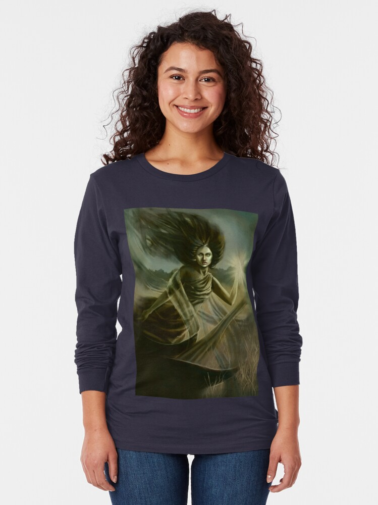 Alternate view of Spirit of the Meadow Long Sleeve T-Shirt