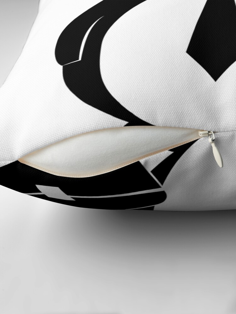 Alternate view of Business Penguin Throw Pillow