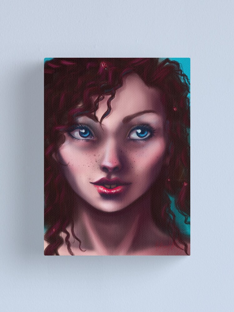 Alternate view of Lady of the Ladybugs Canvas Print