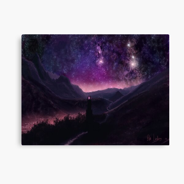 Valley of Light Canvas Print
