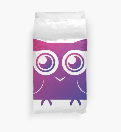 Curious Owl Duvet Cover