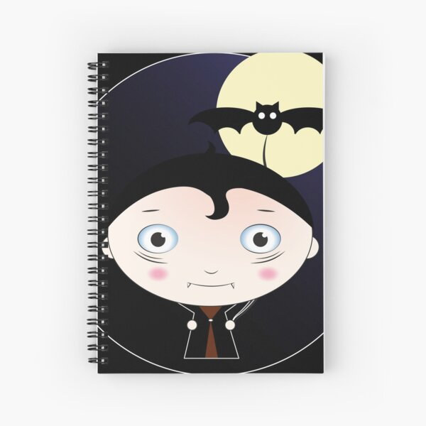 Dracula Spiral Notebook