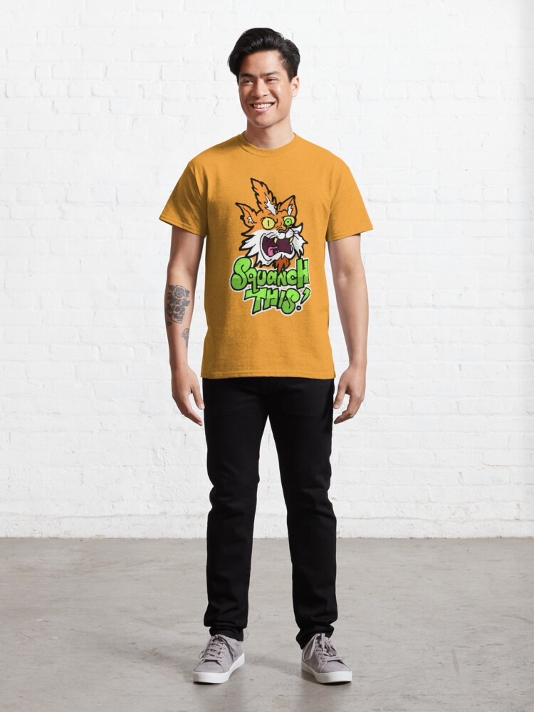 Alternate view of Rick and Morty™ Squanchy transformed - Squanch This! Classic T-Shirt