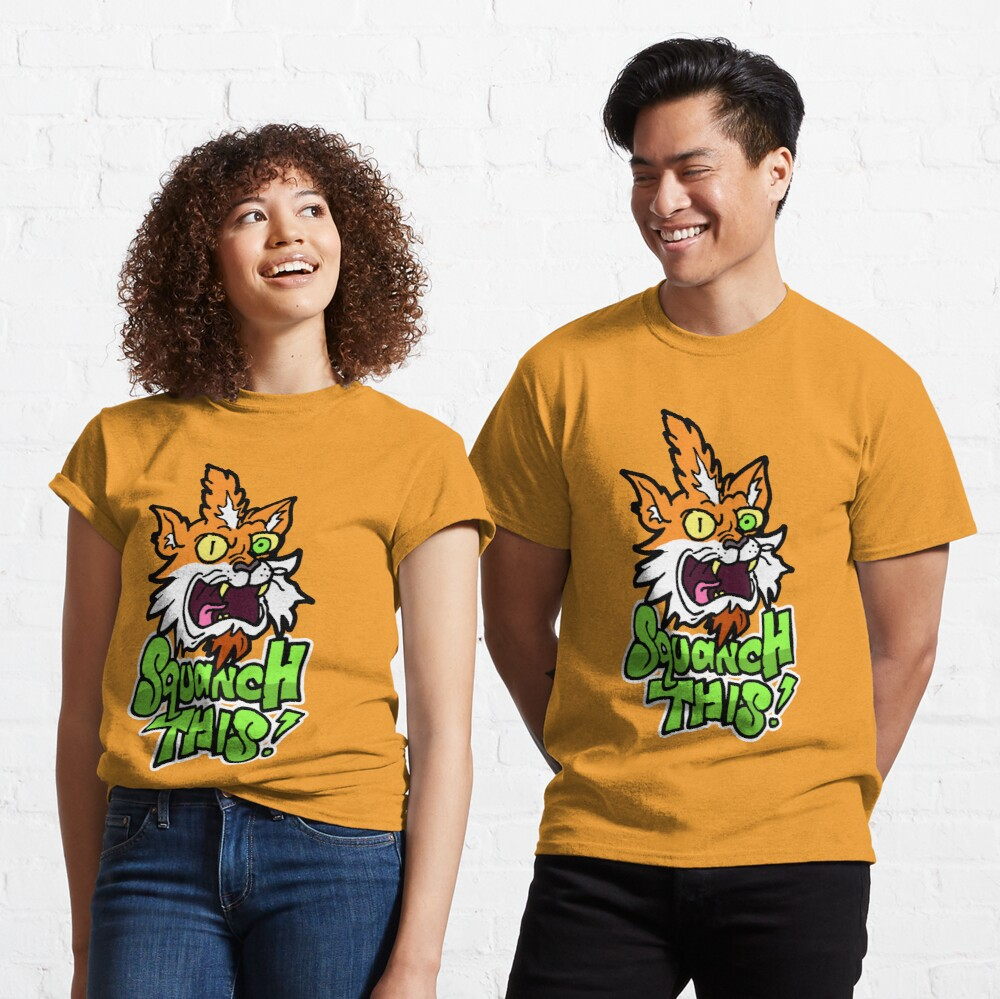 Rick and Morty™ Squanchy transformed - Squanch This! Classic T-Shirt