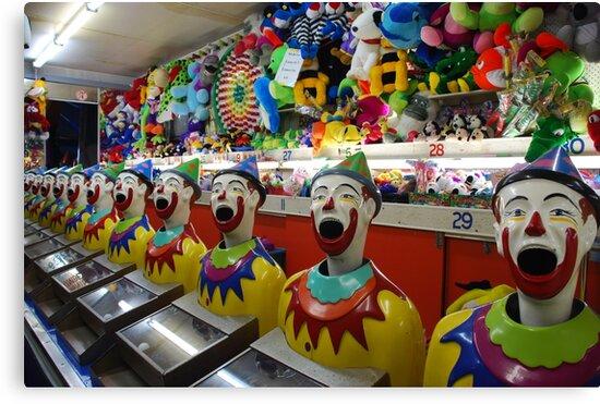 Laughing clown chorus by Graham Mewburn