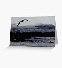 No Calm After the Storm Greeting Card