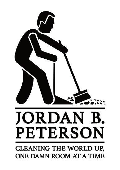 Jordan B. Peterson - Reinigen Sie Ihr Zimmer T-Shirt von IncognitoMode