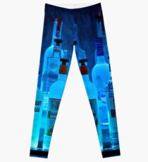 Blue Night Shadows Leggings