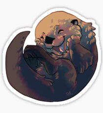 Giggling otter Sticker