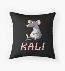 Kali Sticker Throw Pillow