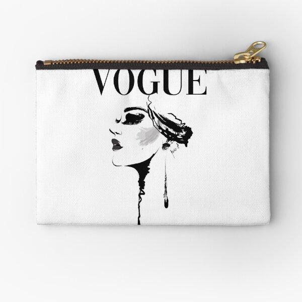 Vogue Magazine Cover Zipper Pouch
