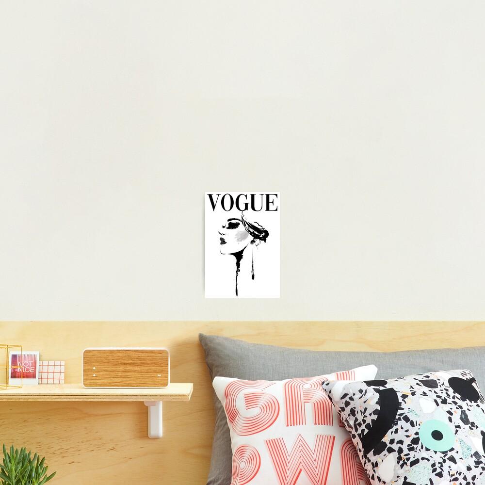 Vogue Magazine Cover Photographic Print