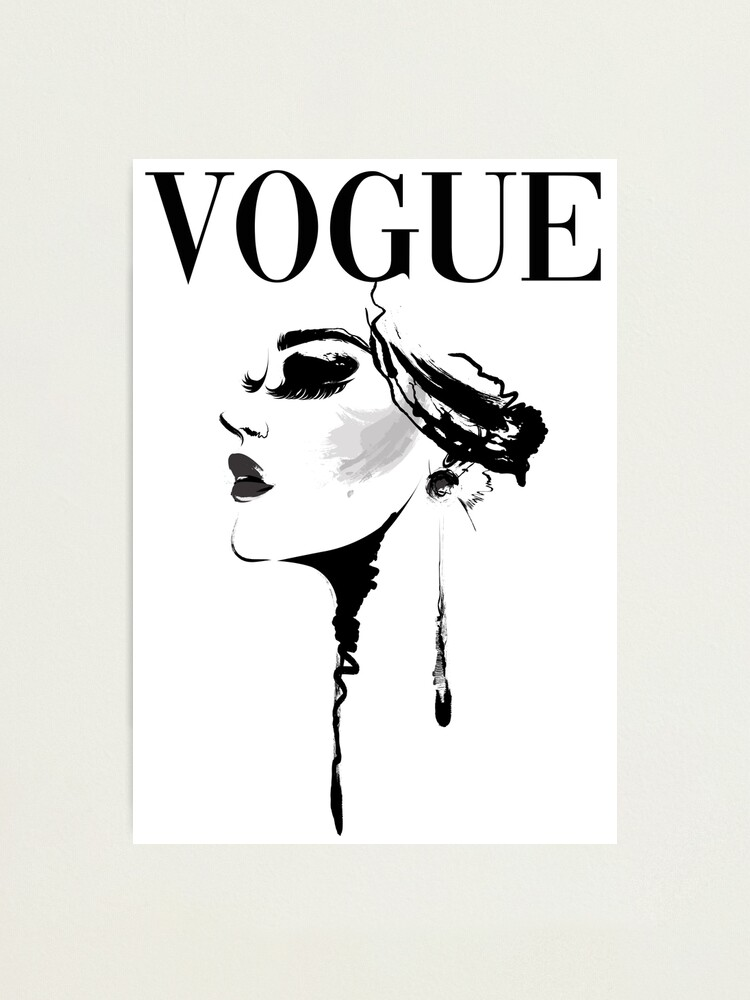 Alternate view of Vogue Magazine Cover Photographic Print