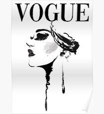 Póster Portada de la revista Vogue