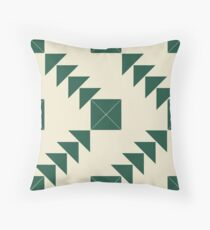 Marion's Favourite Green Arrow Pattern Floor Pillow