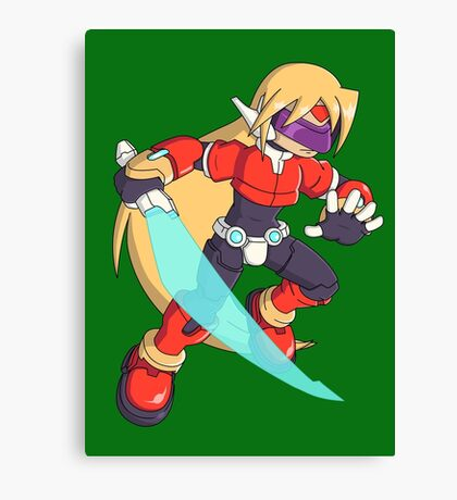 The Red Mega Man Canvas Print