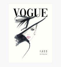 Lámina artística Portada de la revista Vogue Fashion