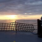 Sunset On The Ocracoke island Ferry by DianaTaylor/ JacksonDunes