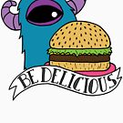 Be Delicious with the Burger Monster by emo-seal