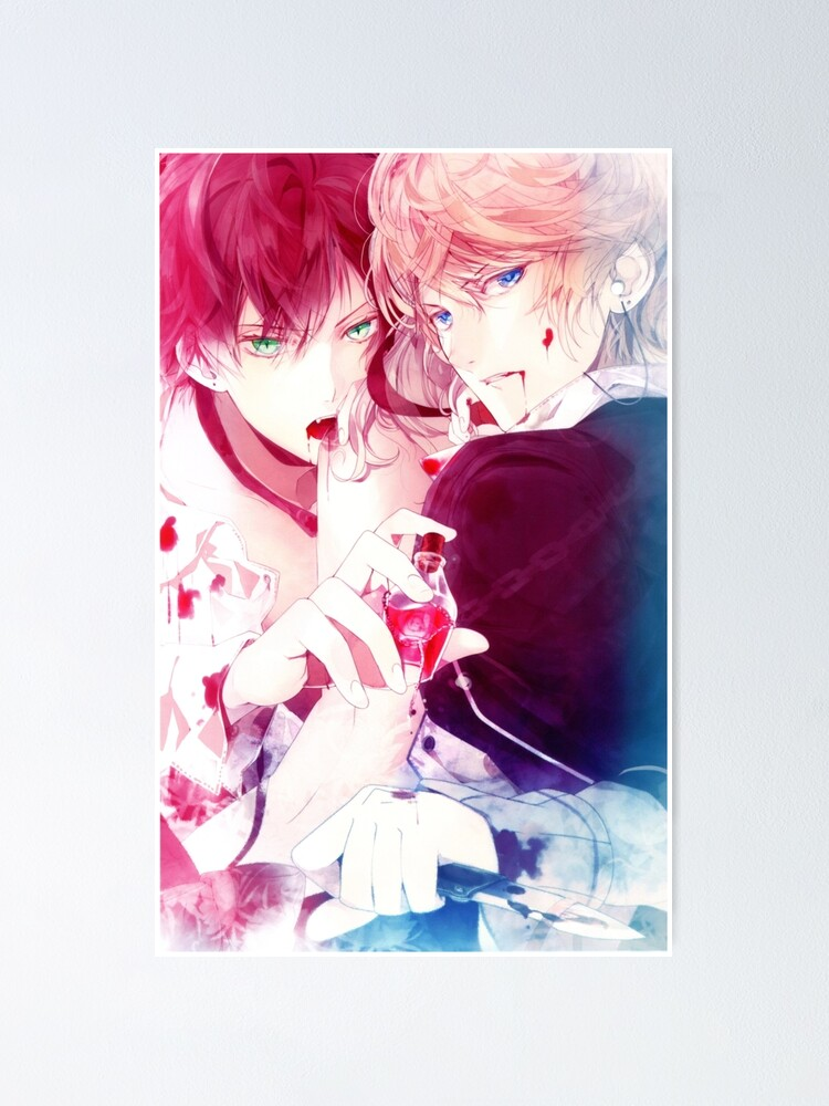 Ayato And Shu Pose Poster By Puppy1843e Redbubble