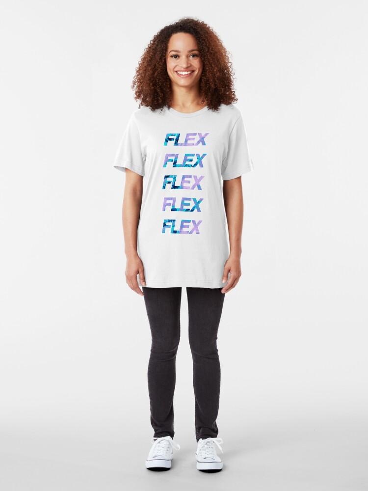 Vista alternativa de Camiseta ajustada FLEX FLEX FLEX FLEX FLEX