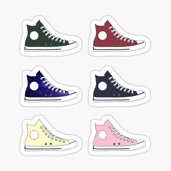 Converse Set Sticker