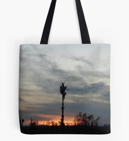 My feet to the fire... Tote Bag