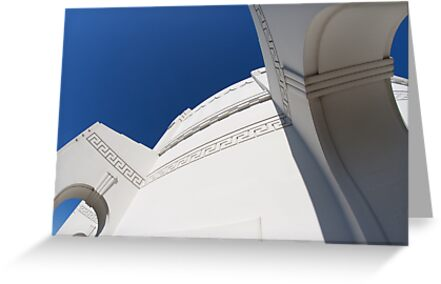 The Griffith Observatory, Los Angeles by Helen Watson