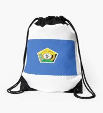 Flag of Southeast Sulawesi  Drawstring Bag