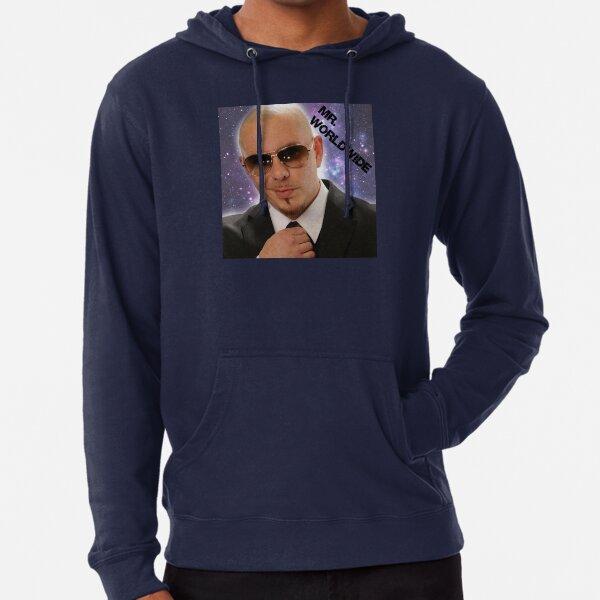 Mr.Worldwide / Pitbull / Leichter Hoodie