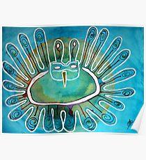 Kachina Was a Dancer original painting Poster