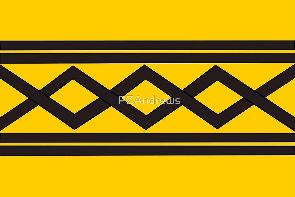 Flag of West Midlands County, UK by PZAndrews