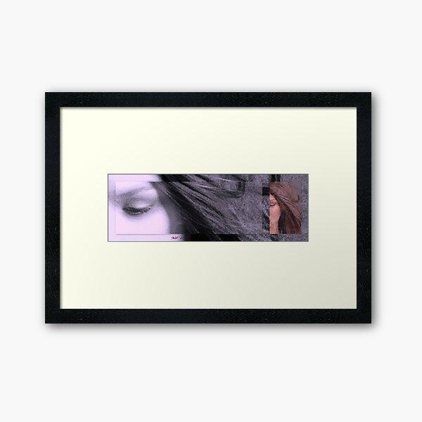 Eye dream of you Framed Art Print
