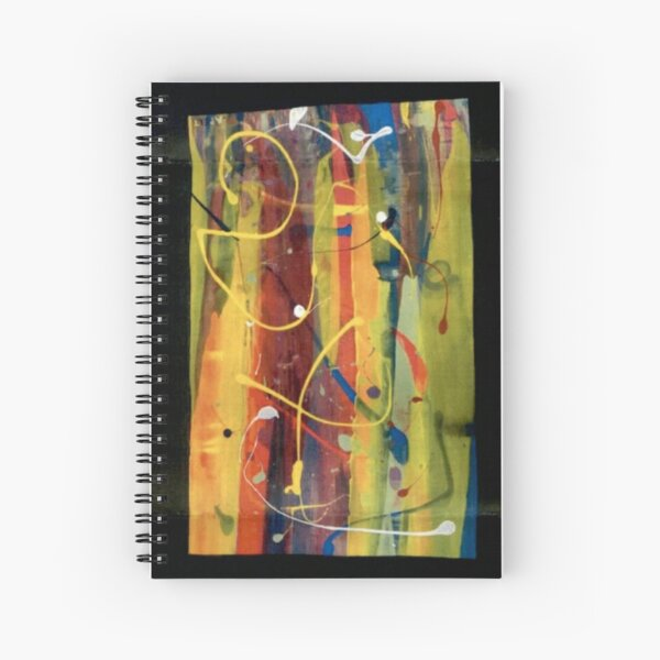 Open Flame Spiral Notebook