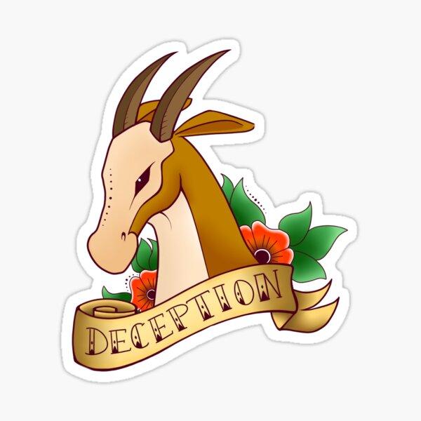 Deception Sticker