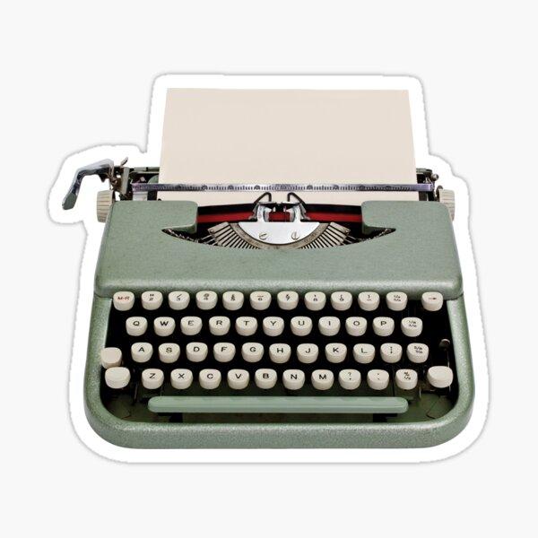 Vintage Typewriter Sticker